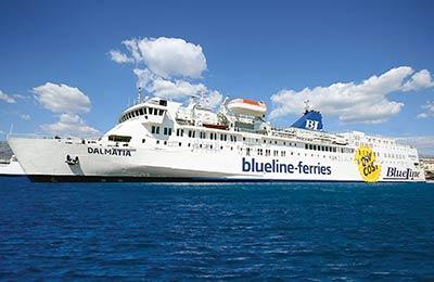 Line Ferries blu