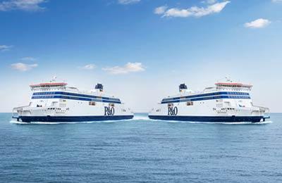 P&O Ferries North Sea